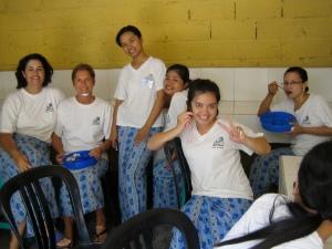 Studenten van Jamu Spa School te Jimbaran