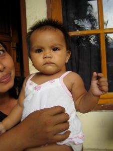 Tiara, nu 10 maanden oud