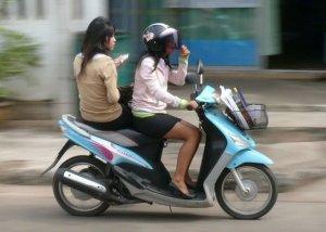 Perfect op de bike op weg naar school
