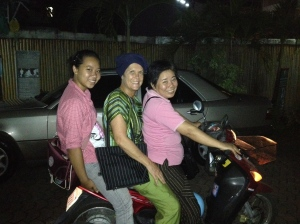 Op sjouw in Thailand